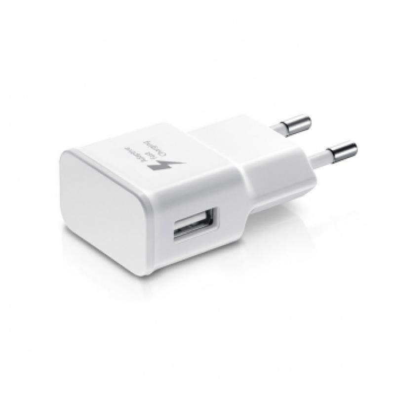 KUCNI PUNJAC FAST CHARGING USB1 SAMSUNG 5V 2A QC 2.0 BELI