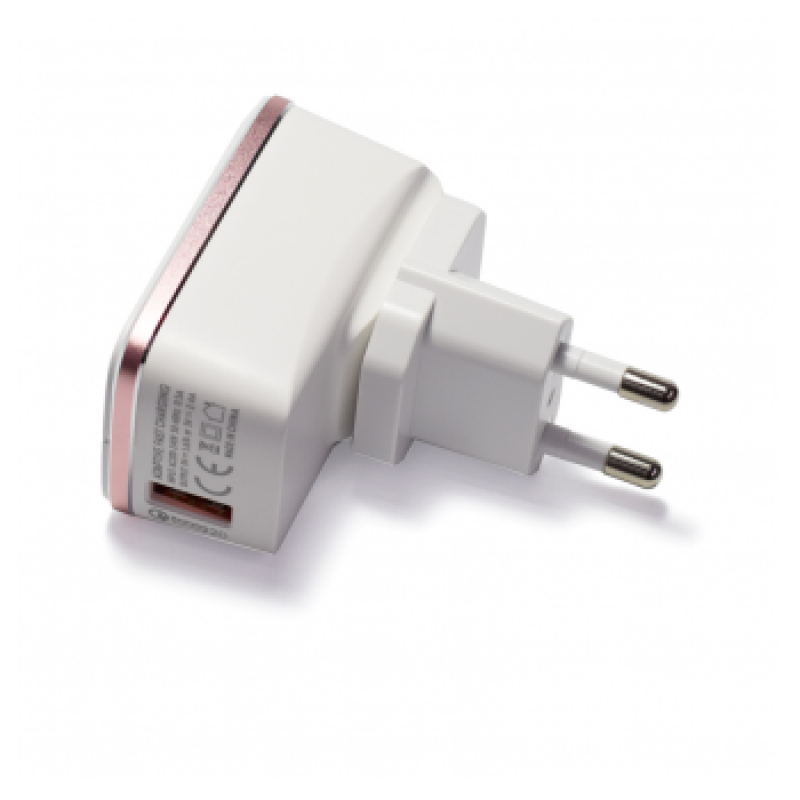 KUCNI PUNJAC LDNIO A1204Q 5V/2,4A FAST CHARGING + MICRO USB KABEL BELI