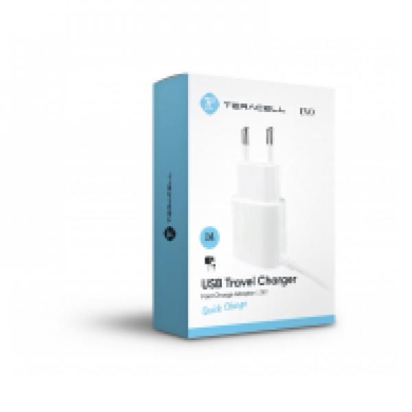 KUCNI PUNJAC TERACELL EVO USB1 LIGHTNING 1A BELI