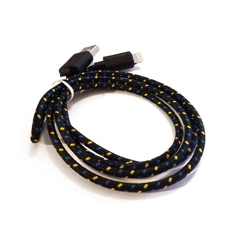 Kabal za iPhone 5/5s/5c/SE/6/6s/6+/6s+ pleteni TPNM crno žuti