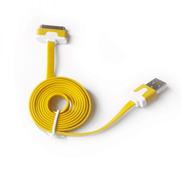 Kabal za Iphone 3/4 flat TPNM, žuti