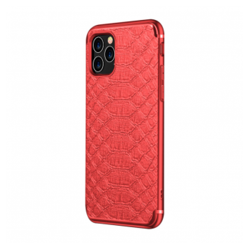 CROCO WITH MAGNETIC PLATE IPHONE 11 PRO MAX CRVENA