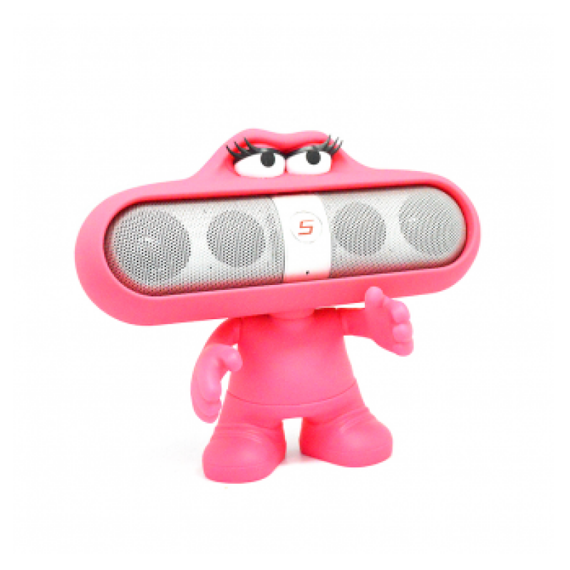 DRZAC ZA SPEAKER BTS08/PS PILL TOY HOT PINK.