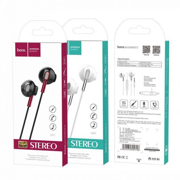 HOCO M57 Sky sound universal earphones with microphone