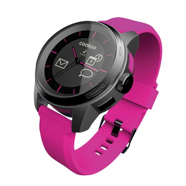 Cookoo pametan sat smart watch, pink