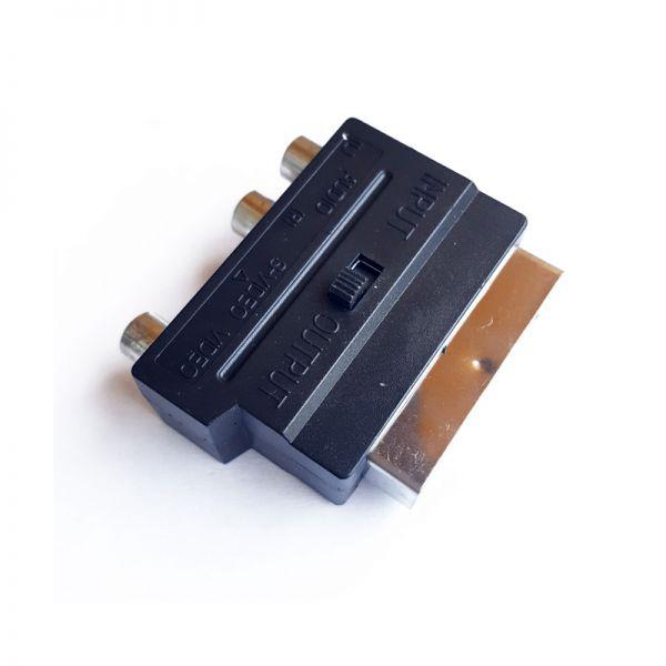 Adapter skart utikač 3xčinč+S-VHS