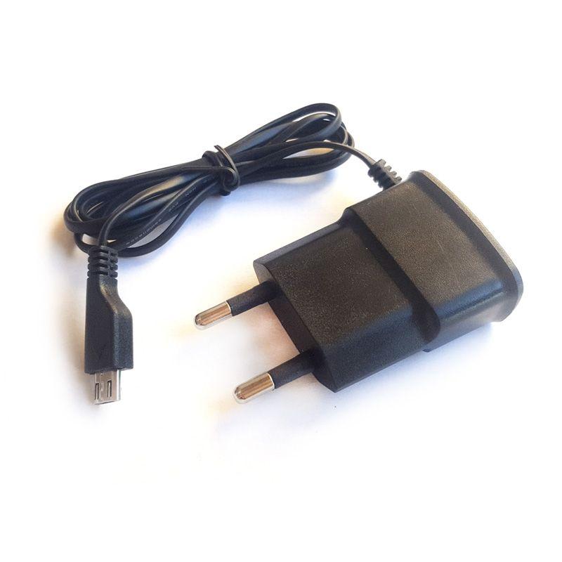 Kućni punjač Micro USB 1A, crni