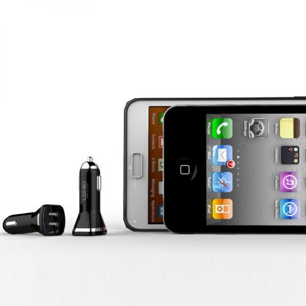 Auto punjač Ldnio DL-219 za iPhone 5/5s/5c/SE/6/6s/6+/6s+ 2xUSB 2.1A, crni