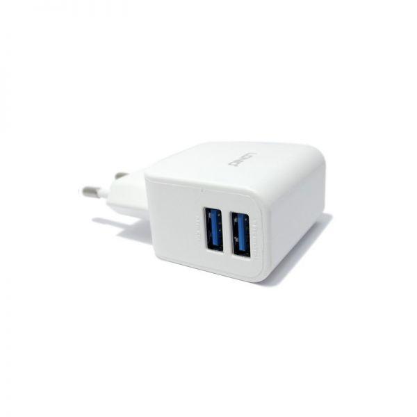 Kućni punjač Ldnio DL-AC56  2XUSB  2.1A, beli