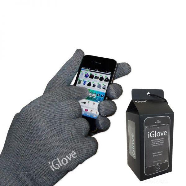 Rukavice za touch screen, sive