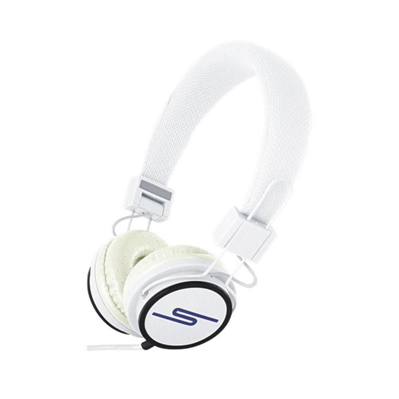 Slušalice velike Stereo Y6338 3.5mm, bele