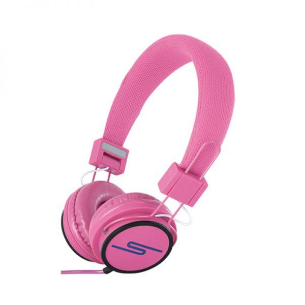 Slušalice velike Stereo Y6338 3.5mm, pink