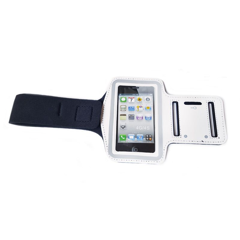 Futrola za ruku sports Armband iPhone 4 bela