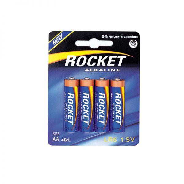 Baterija Alkalna Rocket LR06 1.5V AA