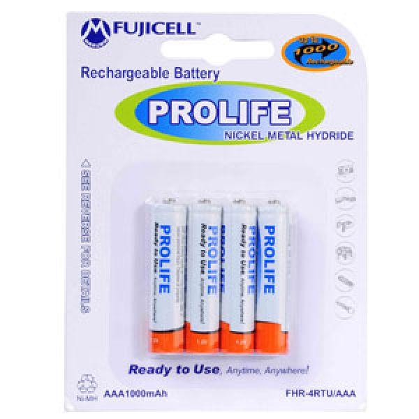 Baterija punjiva Fujicell 1000mah 1.2V AAA