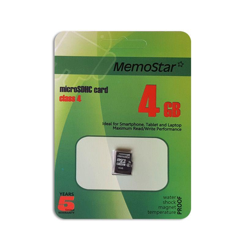 Memorijska kartica Memostar microSDHC 4Gb