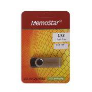 Usb Flash Disk Memostar 1Gb, crni