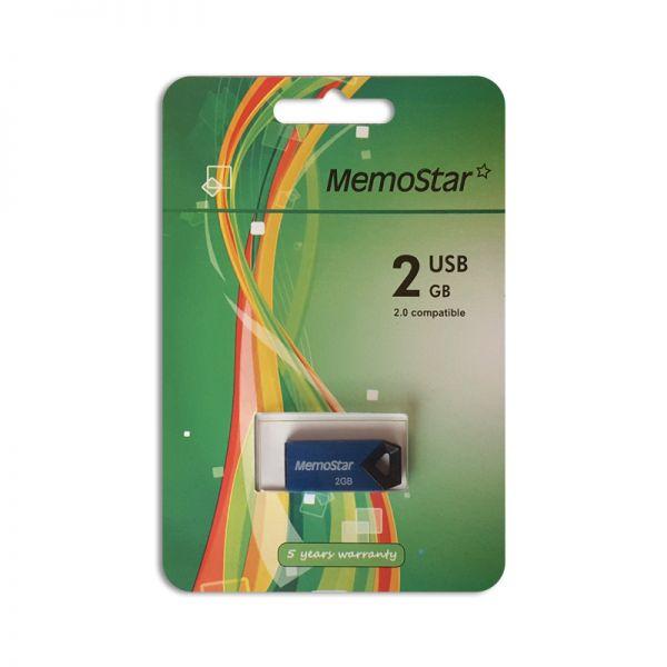 Usb Flash disk Memostar 2Gb Triangle, plavi