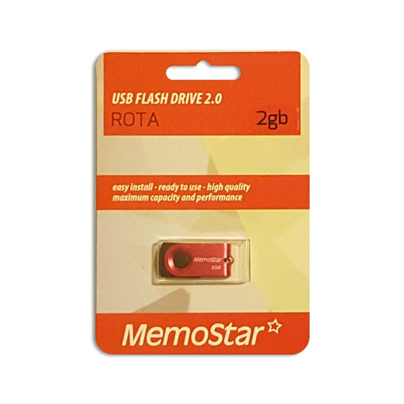 Usb Flash disk Memostar Rota 2GB, pink