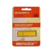 Usb Flash disk Memostar Cuboid 2GB, zlatni