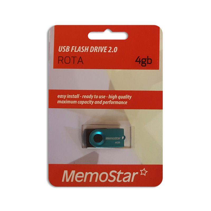 Usb Flash disk Memostar Rota 4GB, plavi