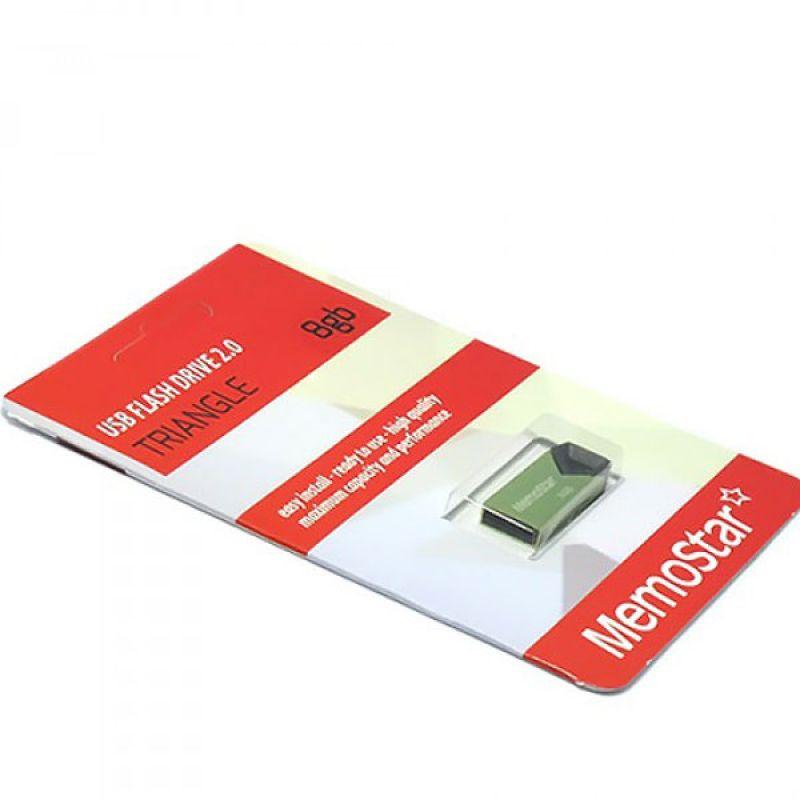 Usb Flash disk Memostar Triangle 8GB, zeleni