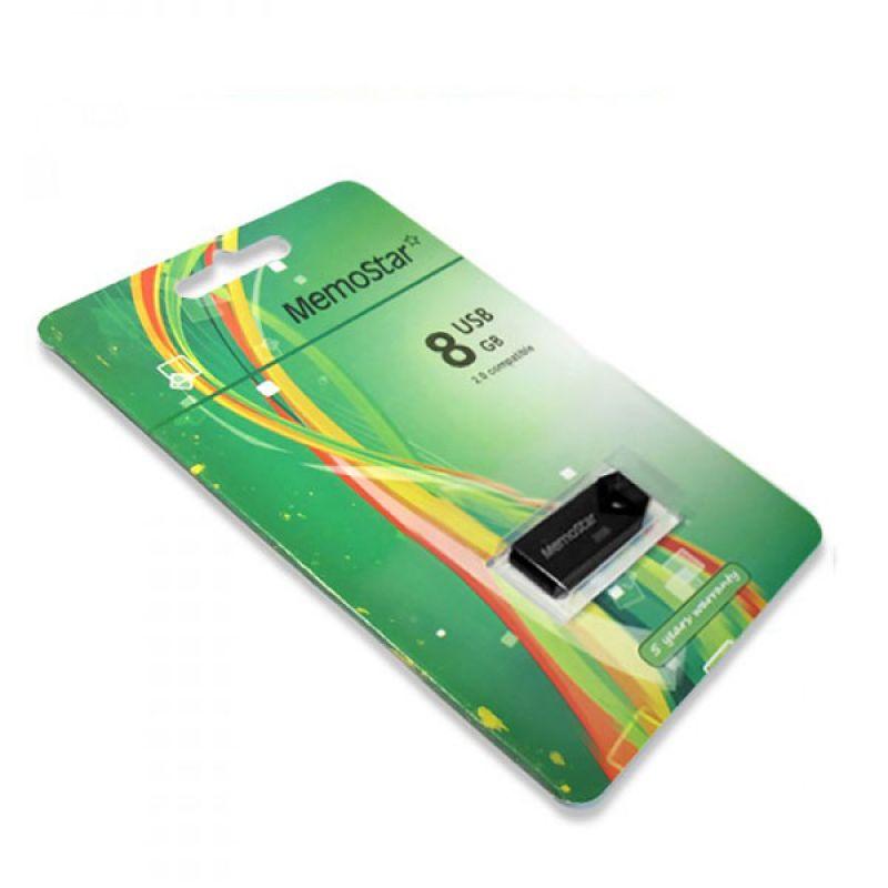 Usb Flash disk Memostar Triangle 8GB, crni