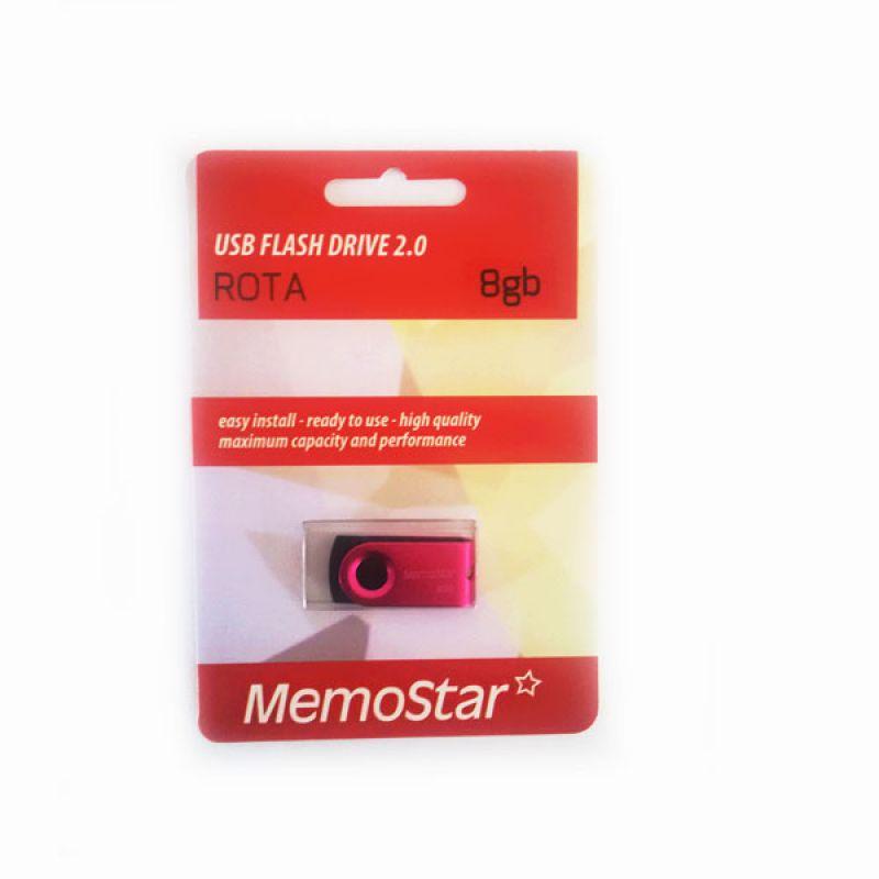 Usb Flash disk Memostar Rota 8GB, pink