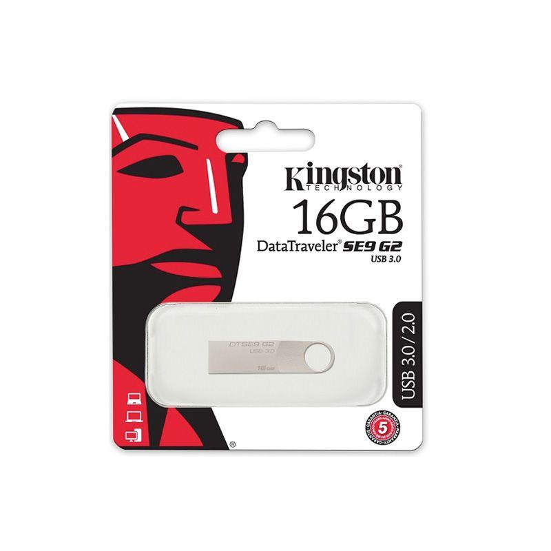Usb Flash disk Kingston Data Traveler SE9 G2 16Gb, srebrni