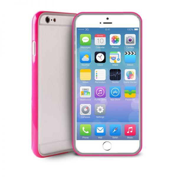 Futrola Puro Bumper sa zaštitom za ekran iPhone 6/6s, pink