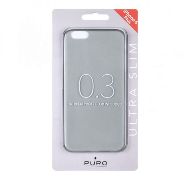 Futrola Puro ultra slim iPhone 6 Plus/6s Plus, siva