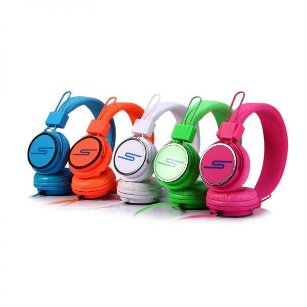 Slušalice velike Stereo Y6338 3.5mm, narandzaste