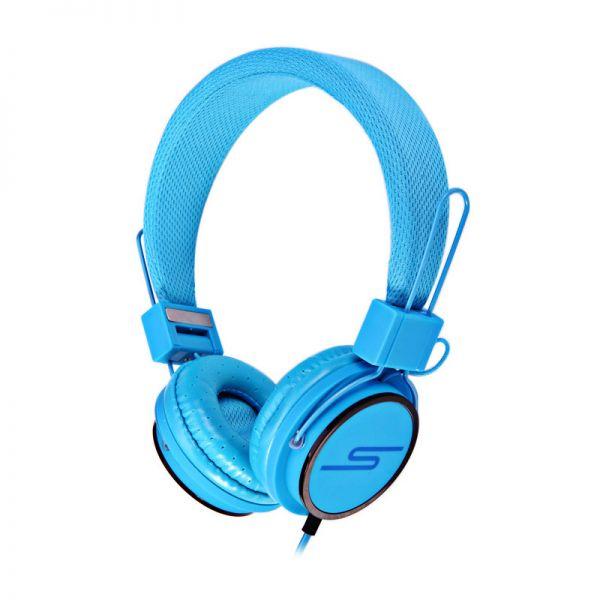 Slušalice velike Stereo Y6338 3.5mm, plave