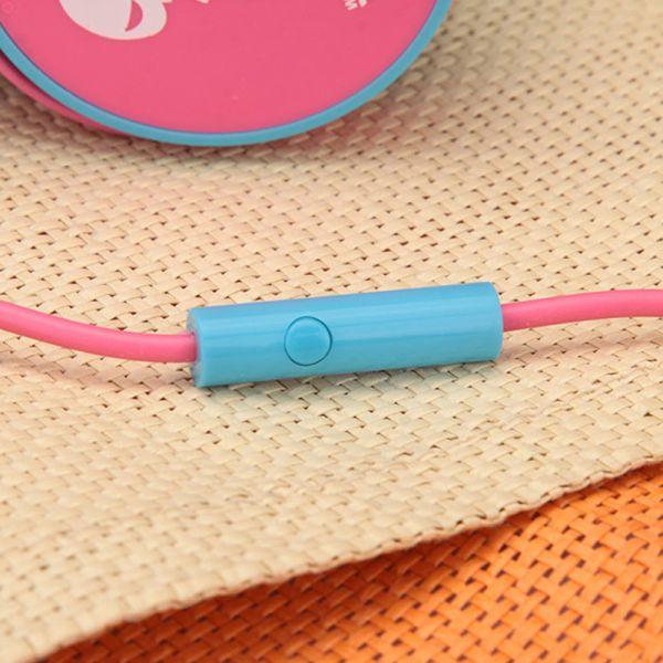Slušalice velike Baby EP-15, pink-plave