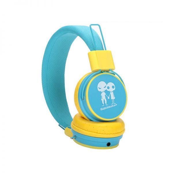 Slušalice velike Baby EP-15, plavo-žute