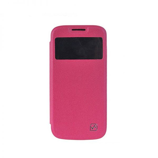 Hoco I futrola na preklop za Samsung galaxy i9500 S4, roze