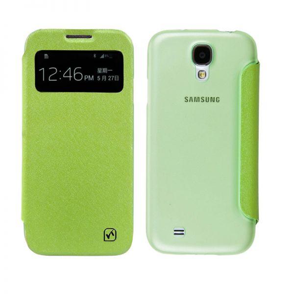 Hoco I futrola na preklop za Samsung galaxy i9500 S4, zelena