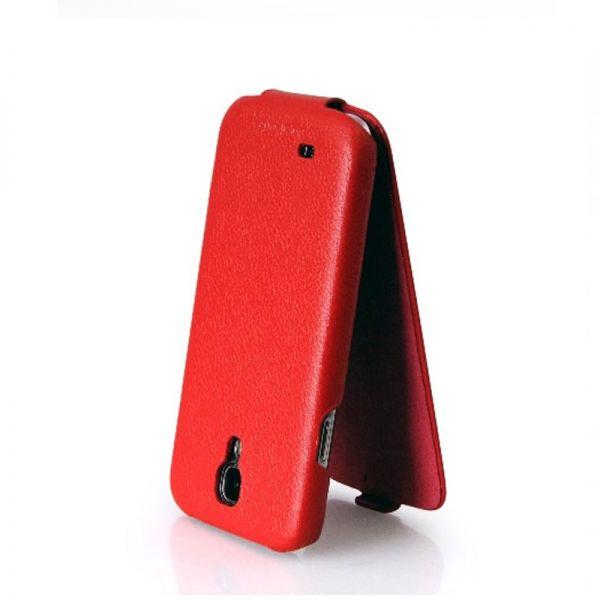 Hoco I Futrola flip top za Samsung galaxy i9500 S4, crvena