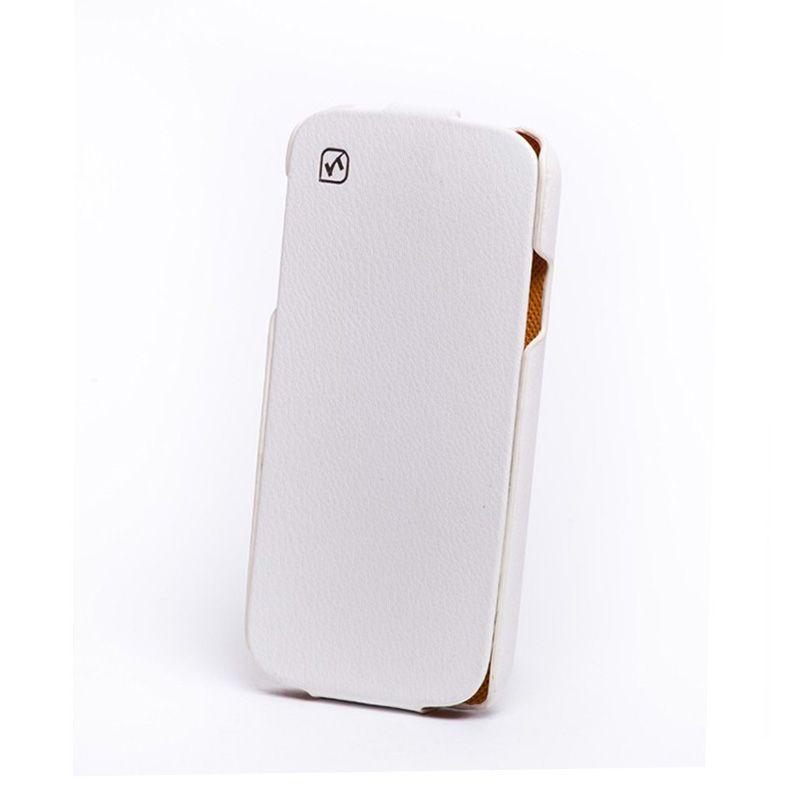 Hoco I Futrola flip top za Samsung galaxy i9500 S4, bela