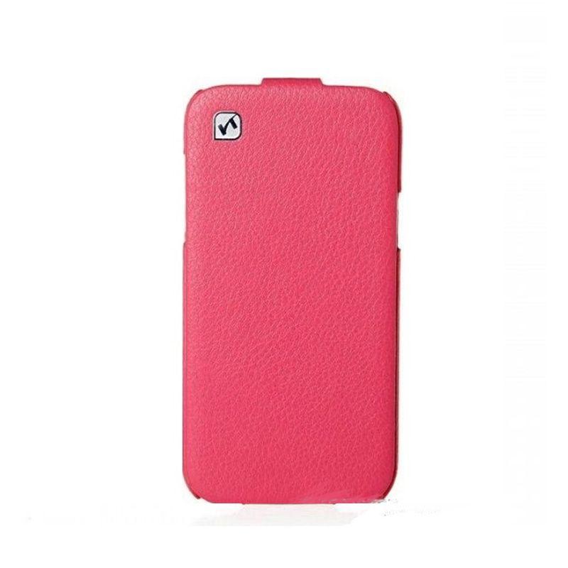 Hoco I Futrola flip top za Samsung galaxy i9500 S4, pink