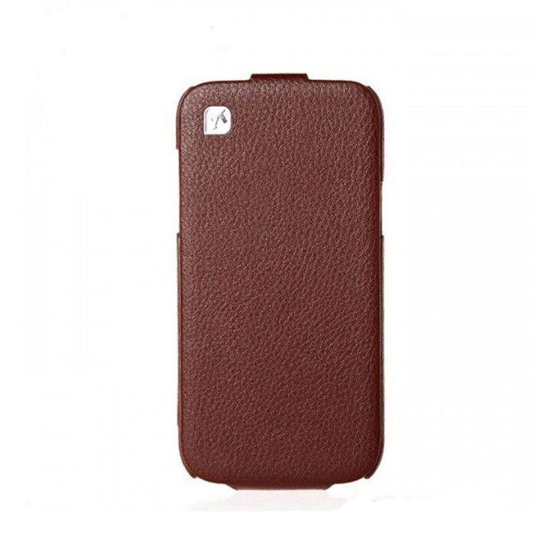 Hoco I Futrola flip top za Samsung galaxy i9190 S4 mini, braon