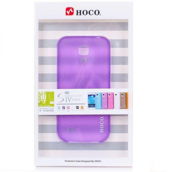 Hoco I futrola za Samsung galaxy i9190 S4 mini, ljubičasta