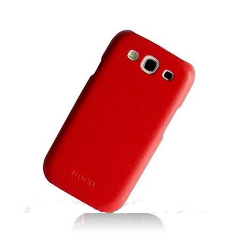 Hoco I Futrola za Samsung galaxy S3 i9300 kožna leđa, crvena
