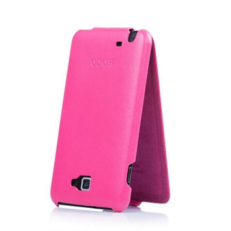 Hoco I futrola flip top za Samsung galaxy Note i9220, pink