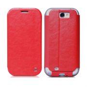 Hoco I futrola na preklop za Samsung galaxy Note 2 N7100, crvena