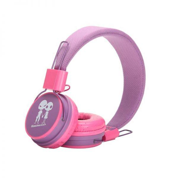 Slušalice velike Baby EP-15, ljubičasto-pink