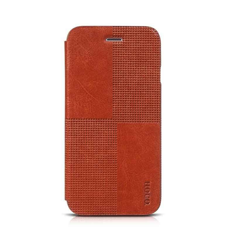 Hoco Futrola Cristal fashion leather na preklop za iPhone 6 Plus/6s Plus, braon