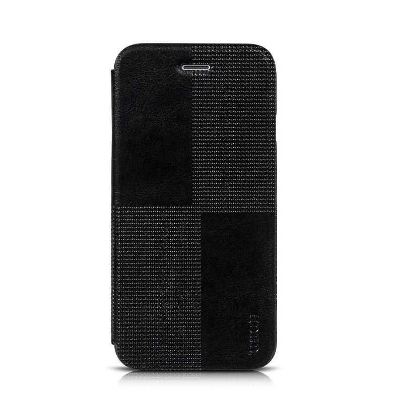 Hoco Futrola Cristal fashion leather na preklop za iPhone 6 Plus/6s Plus, crna