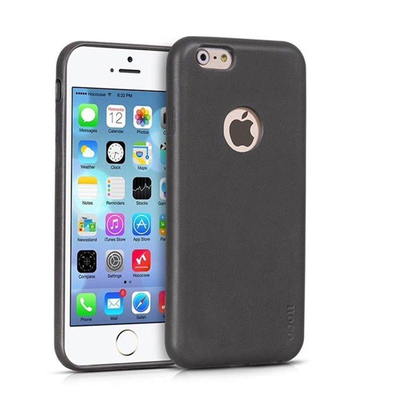 Hoco Futrola Paris leather cover za iPhone 6 Plus/6s Plus, siva