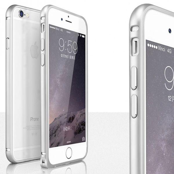 Aluminijumski bumper za iPhone 6 Plus/6s Plus, srebrni